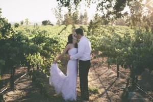 wedding at vineyard