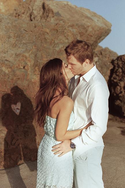 Engagement photography Malibu